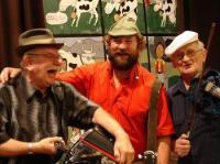 Het vrolijkste trio uit de Belgique brengt een bloemlezing van franse chansons en musettes